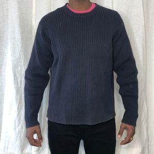 Tommy Hilfiger Mens Vintage Knit Sweater Medium
